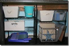 bottom shelves
